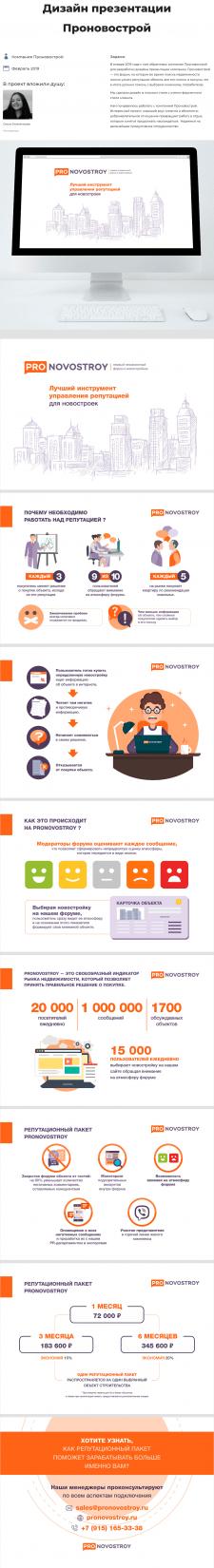 Презентация Pronovostroy