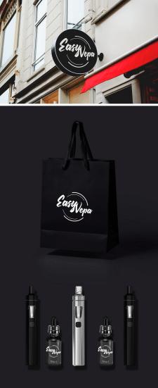 Создание логотипа для Vape Shop