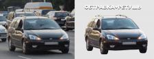 Обтравка и ретушь (Автомобиль)