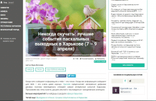 Обзор для сайта vgorode.ua