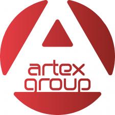 "Логотип креативной компании ""АРТ ЭКС груп"""