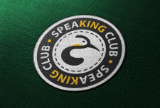 Логотип клуба английского языка «Speaking Club»