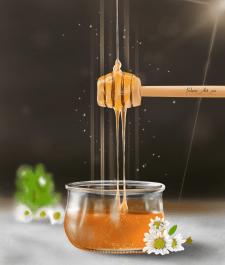 Иллюстрация мёда