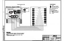 Схема подключения ТВ-системы