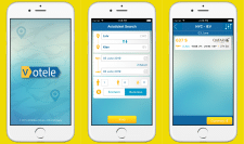 Votele iPhone application