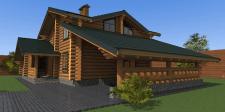 Проект будинку зі зрубу