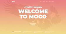 Верстка сайта Mogo