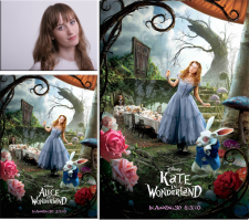 """Постер из к/ф """"Алиса в стране Чудес""""."""