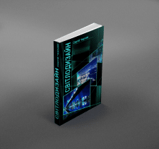 """Design for the cover of the book """"Lighting design"""""""