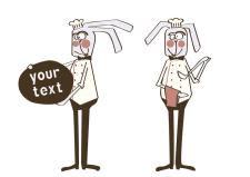 заяц шеф-повар