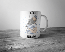 Принт моряка для чашки