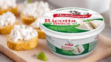Разработка дизайна для сыра Рикотта