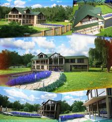 ext03 - Загородный дом