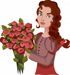 girl flor