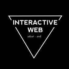 Дизайн логотипа телеграм канала Interactive Web
