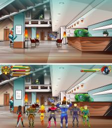Бонусный игровой уровень 3