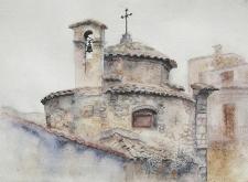 Давня церква у Пополі