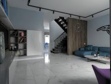 Дизайн и визуализация дома 1й этаж