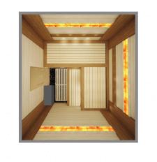 Сауна - дизайн  и визуализация вид сверху