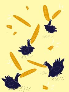 Курочка с батонами (Кульминация 1)