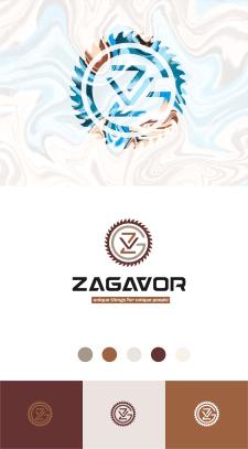 Логотип - изделия из дерева+мрамора