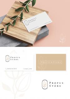 визитки для бренда бижутерии