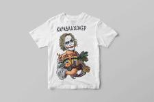 Принт для футболки 2