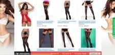 Наполнение сайта женского белья, колготок