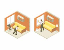 Иллюстрация для сайта на тему- ремонт