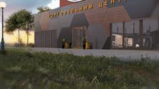Дизайн фасаду і візуалізація ТЦ