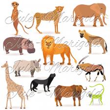 Сет із африканськими тваринами