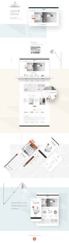 Lampa E-Commerce Website