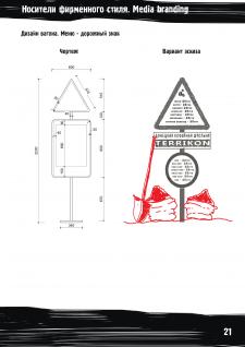 Разработка брендбука: кофе-вагон