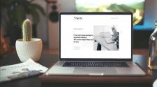 Сайт визитка для дизайн агенства