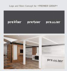 Логотип и концепт магазина по продажи компьюторов