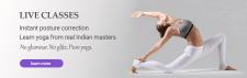 баннер для уроков йоги