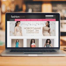 Дизайн веб-баннера для интернет магазина