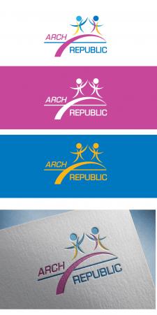 Логотип  архітектурно-дизайн студія ARCH-REPUBLIC
