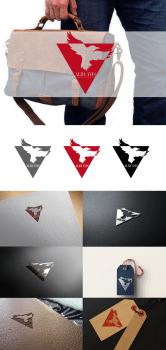 логотип Alba avis - Белая ворона