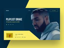 Музыкальный портал | Концепт сайта