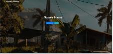 Шаблон официального сайта какой-нибудь игры