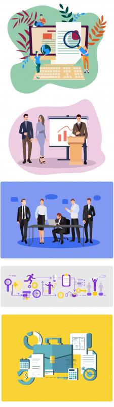 Иллюстрации флэт