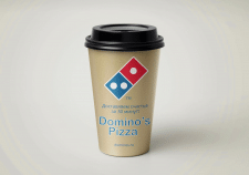 Coffee cup for Domino's Pizza