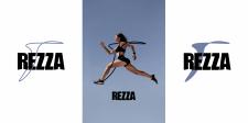 REZZA logo design