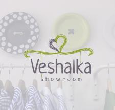 Логотип для шоу-рума Veshalka