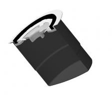 Корпус масляного фильтра с крышкой