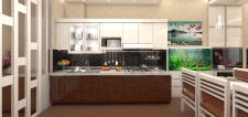 Інтерєр кухня-вітальня