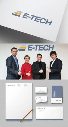 Логотип для компании E-tech