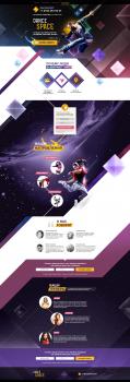 Дизайн сайта для школы танцев