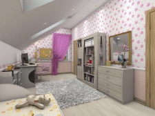 Children room interior